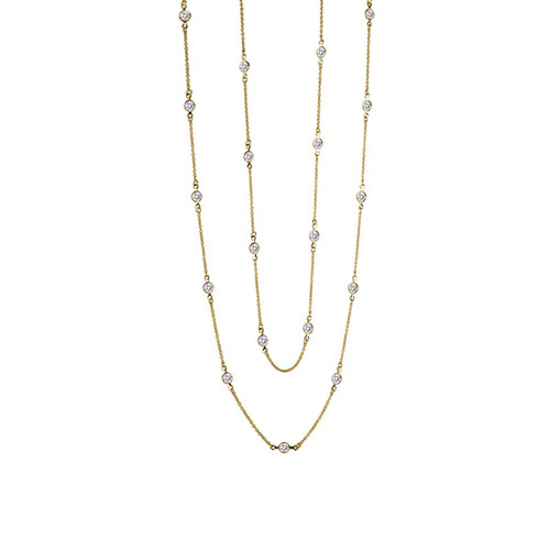 Lafonn's signature Lassaire simulated Diamond Necklace N0016CLG