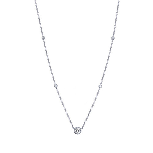 Lafonn's signature Lassaire simulated Diamond Necklace N0039CLP