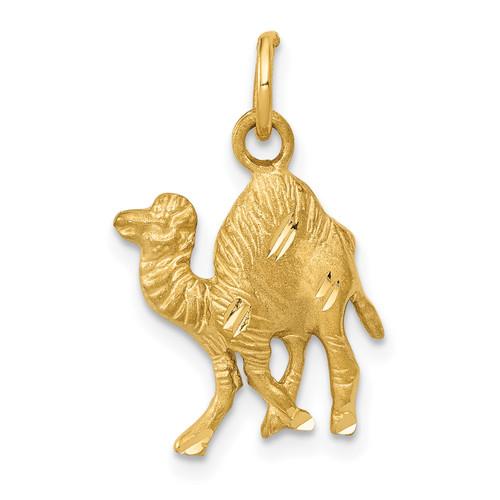 14KT Gold Camel Charm