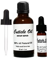 Cuticle Oil Set (Travel Size + Full Size + Bonus Eye Dropper)