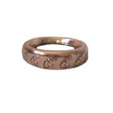 Copper Light Bulb Ring