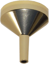 Mini Gold Metal Funnel