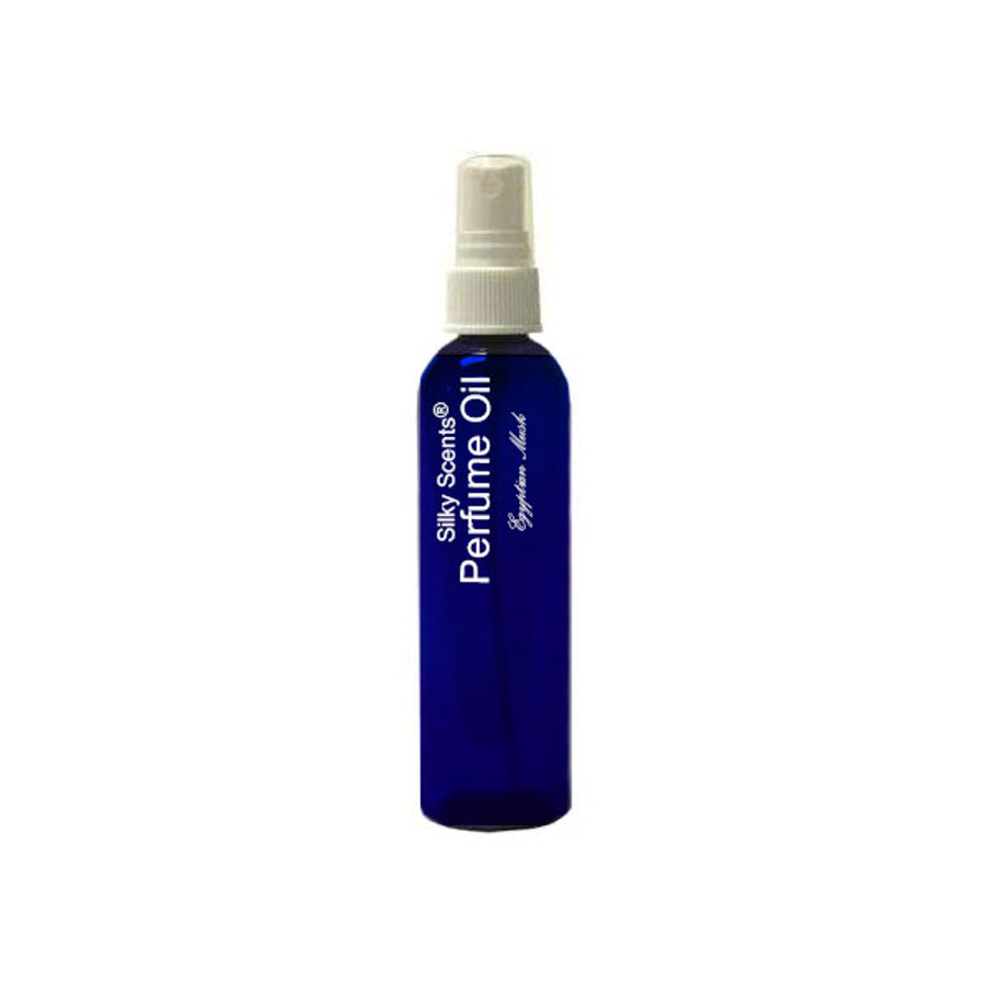 1 oz Perfume Oil Blue Glass Spray Bottle