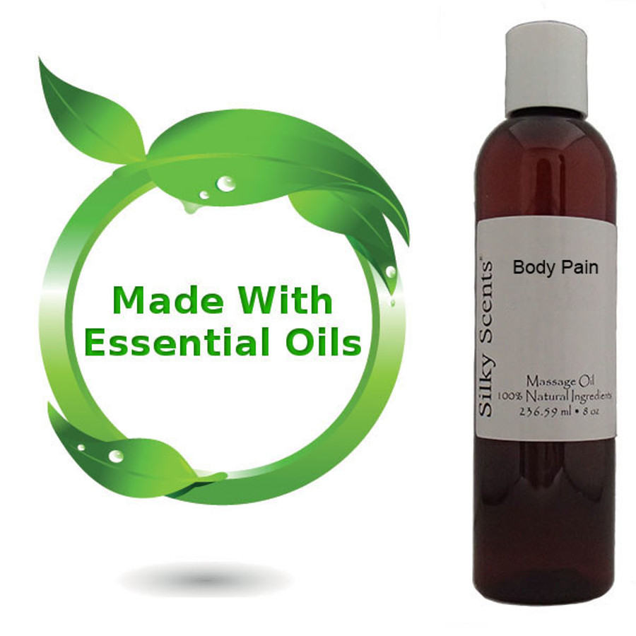 8 oz Absolute Pain Relief Massage Oil
