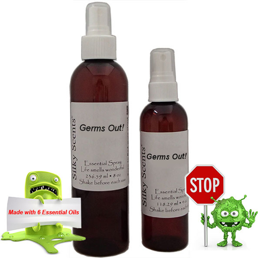 Germs Out! Essential Spray