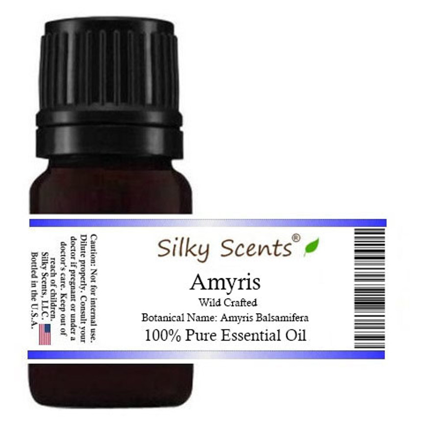 Amyris Wild Crafted Essential Oil (Sandalwood West Indian)
