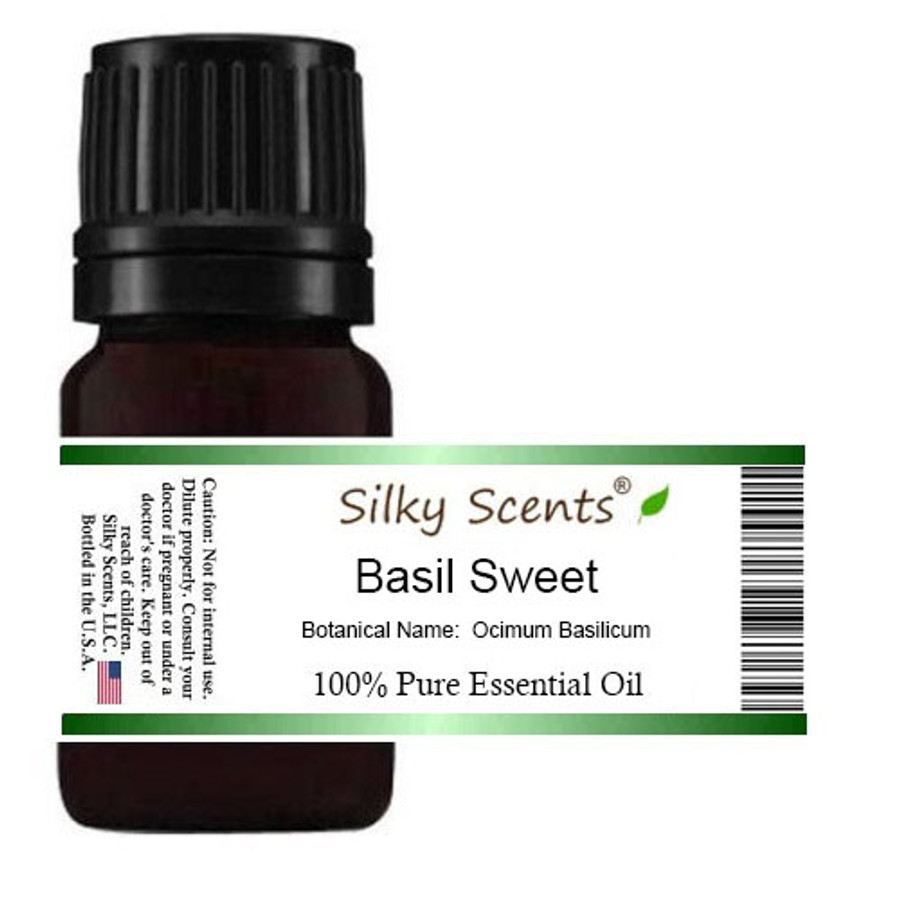Basil Sweet Essential Oil