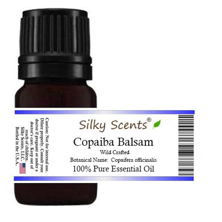 Copaiba Balsam Wild Crafted Essential Oil