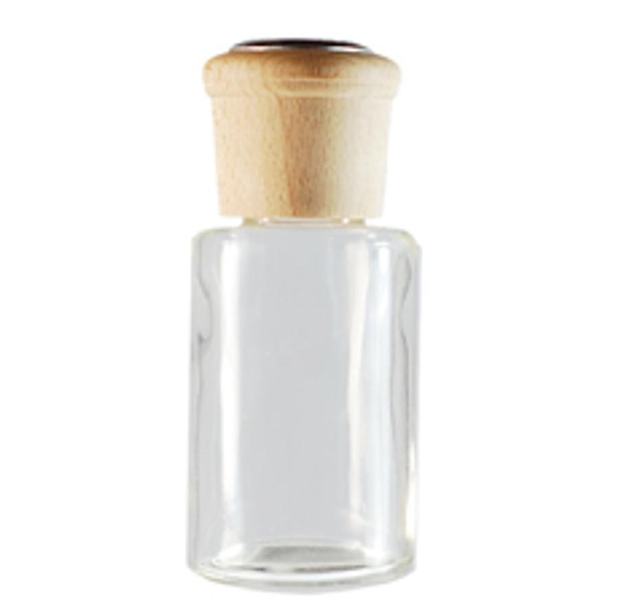3 oz Round Glass Diffuser Bottle