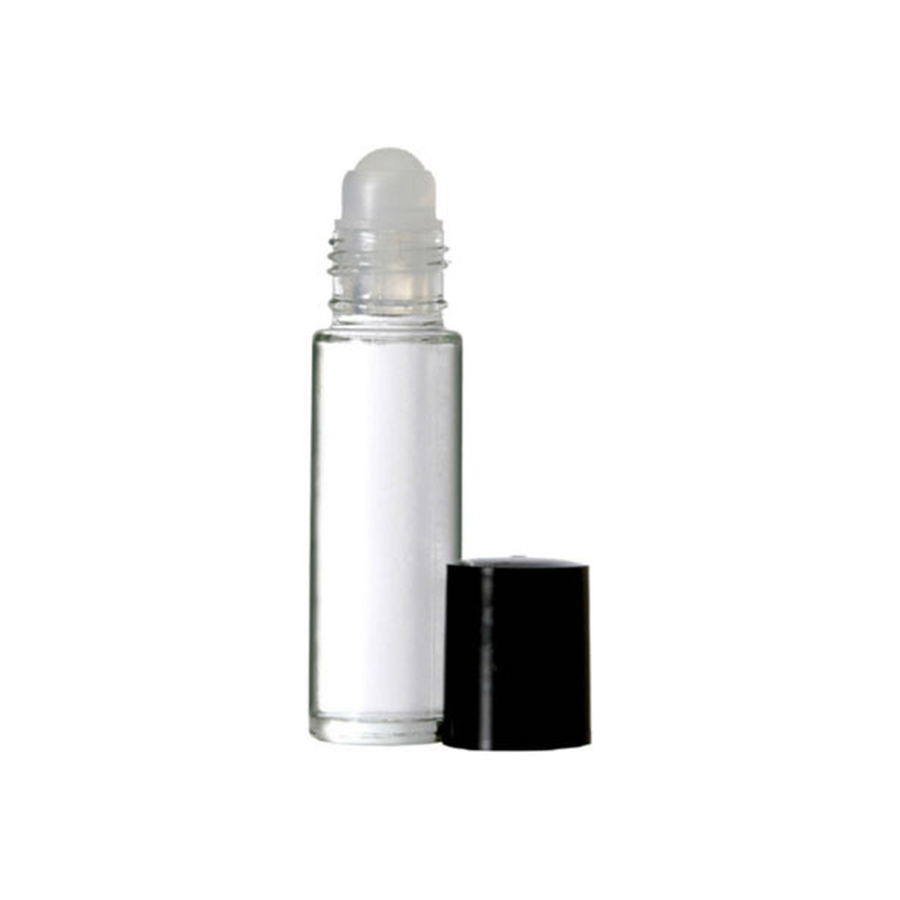 1/3 oz Roll On Bottle with Black Cap