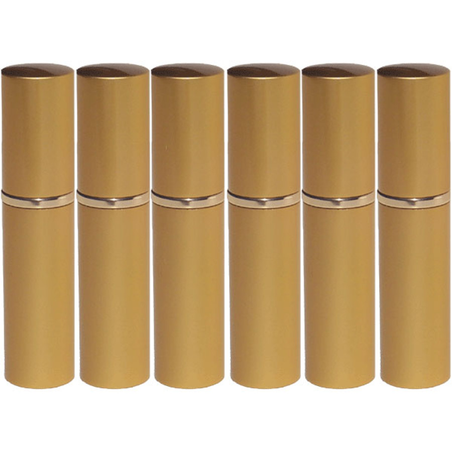 5 ml Gold Glass Sprayer Set **6 Pack**
