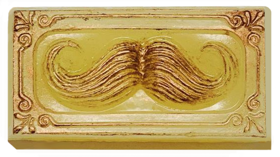 Mustache Soap Bar