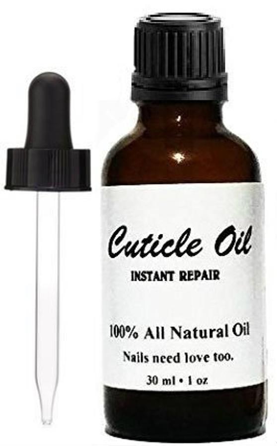 1 oz Cuticle Oil + Bonus glass eye dropper cap
