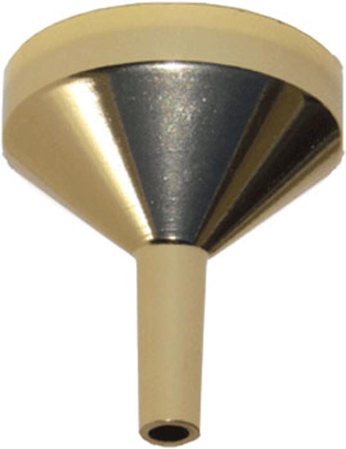 Mini Gold Metal Funnel