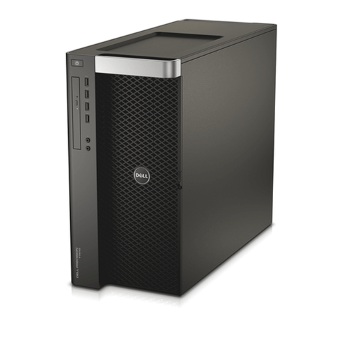 Dell Precision T5610 Workstation 2x E5-2640 Six Core 2.5Ghz 128GB 256GB SSD Q600 Win 10 Pre-Install