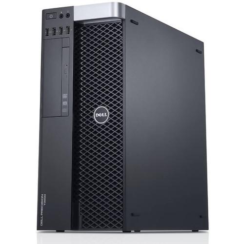 Dell Precision T3600 Workstation E5-1620 Quad Core 3.6Ghz 8GB 500GB Dual DVI Win 10 Pre-Install