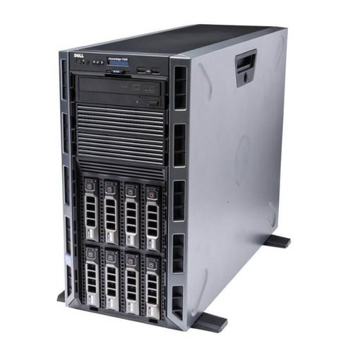 """Dell PowerEdge T420 8 x 3.5"""" Hot Plug 2x E5-2420 Six Core 1.9Ghz 128GB 5x 300GB 15K H710 2x 750W"""