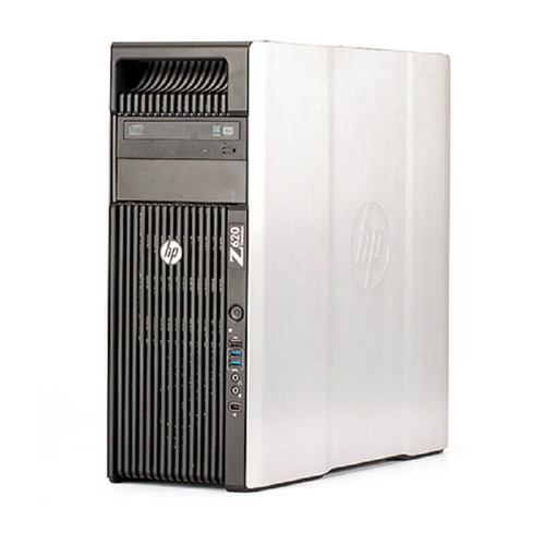 HP Z620 Workstation 2x E5-2640 Six Core 2.5Ghz 128GB 256GB SSD 2TB Dual DVI