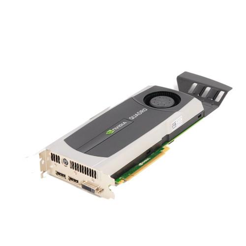 Nvidia Quadro 5000 2.5GB GDDR5 320-bit PCI Express 2.0 x16 Full Height Video Card with Rear Bracket