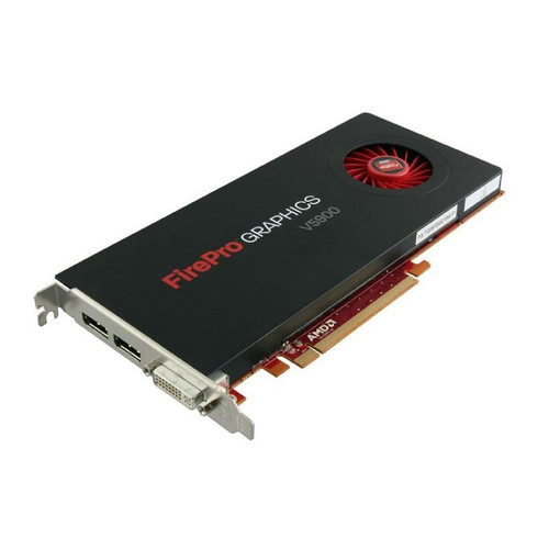 AMD FirePro V5900 2gb GDDR5 256-bit PCI Express 2.1 x16 Full Height Video Card