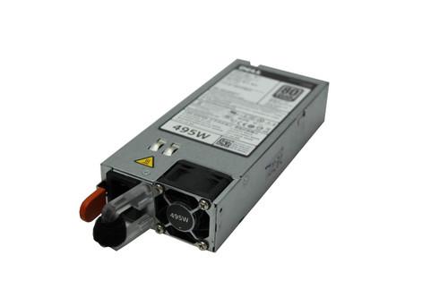 Dell 495W Redundant Power Supply for PowerEdge R520 Server PN: 3GHW3 N24MJ W4TTH