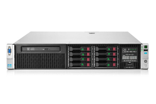 "HP Proliant DL380p Gen8 8 x 2.5"" HS 2x E5-2660 Eight Core 2.2Ghz 128GB 2x 1TB P420i"