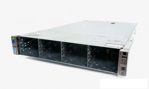 "HP Proliant DL380e Gen8 12x 3.5"" HS 2x E5-2450 Eight Core 2.1Ghz 384GB 8x 300GB 15K B320i"