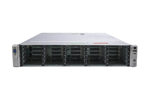 "HP Proliant DL380e Gen8 25x 2.5"" HS E5-2450 Eight Core 2.1Ghz 24GB 2x 300GB B320i"