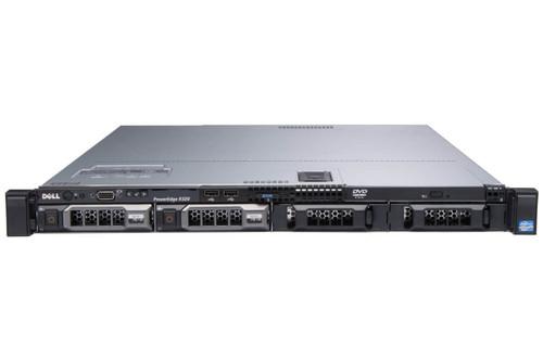 """Dell PowerEdge R320 4 x 3.5"""" Hot Plug E5-2450 Eight Core 2.1Ghz 24GB H310 2x 350W"""