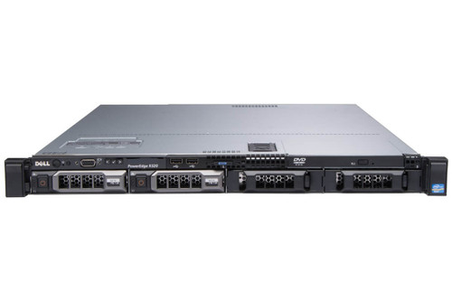 """Dell PowerEdge R320 4 x 3.5"""" Hot Plug E5-2450 Eight Core 2.1Ghz 8GB 4x 1TB H710 2x 350W"""