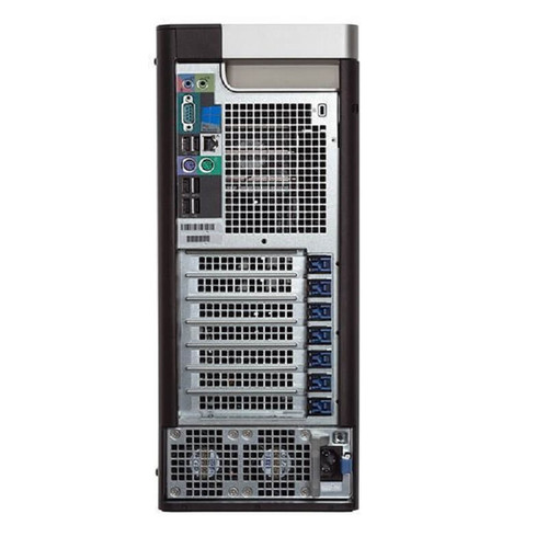 Dell Precision T5600 Workstation E5-2609 Quad Core 2.4Ghz 16GB 500GB SSD 2TB NVS300 Win 10 Pre-Install