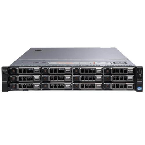 "Dell PowerEdge R720XD 12 x 3.5"" Hot Plug 2x E5-2690 Eight Core 2.9Ghz 64GB 3x 600GB H710"