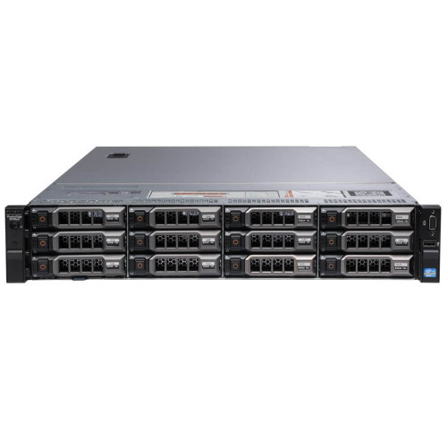 "Dell PowerEdge R720XD 12 x 3.5"" Hot Plug 2x E5-2630 Six Core 2.3Ghz 128GB 12x 500GB H710"