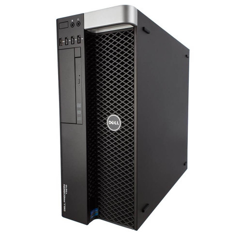 Dell Precision T3610 Workstation E5-1650 V2 Six Core 3.5Ghz 32GB 500GB SSD Dual DVI Win 10 Pre-Install