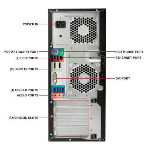 HP Z240 AutoCAD Workstation i7-7700K 4 Cores 8 Threads 4.2Ghz 16GB 250GB NVMe 2TB Nvidia K420 Win 10 Pro