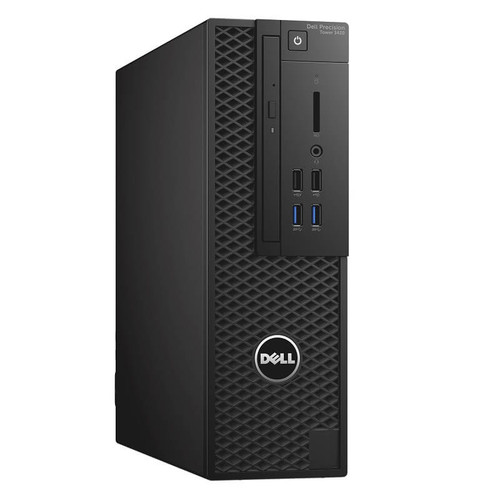 Dell Precision Tower 3420 Workstation i5-6500 4C 3.2Ghz 8GB 250GB NVMe Win 10