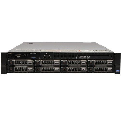 "Dell PowerEdge R720 8 x 2.5"" Hot Plug E5-2630 V2 Six Core 2.6Ghz 16GB 2x 500GB H310"