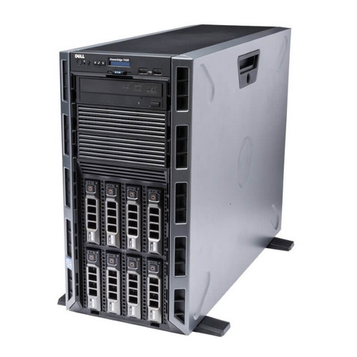 "Dell PowerEdge T420 8 x 3.5"" Hot Plug 2x E5-2403 V2 Quad Core 1.8Ghz 96GB 3x 2TB SAS H710 2x 495W"