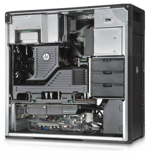 HP Z620 Workstation 2x E5-2660 Eight Core 2.2Ghz 192GB 256GB SSD K2000
