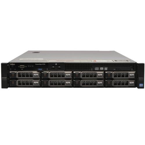 Dell PowerEdge R720 LFF 2x E5-2643 Quad Core 3.3Ghz 32GB 3x 600GB H310