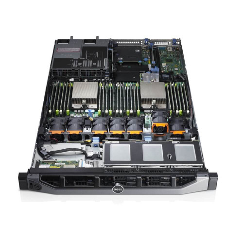 Dell PowerEdge R620 8B SFF 2x E5-2640 Six Core 2.5Ghz 64GB 3x 1TB H310