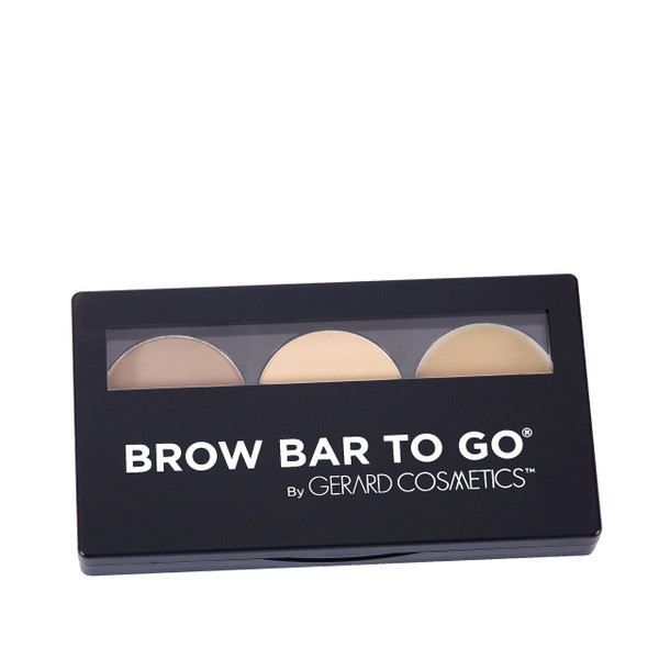 Blonde to Brunette -  Brow Bar To Go