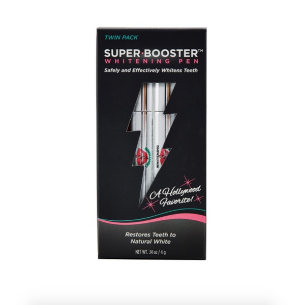 Super Booster Teeth Whitening Pen - 2 Pack