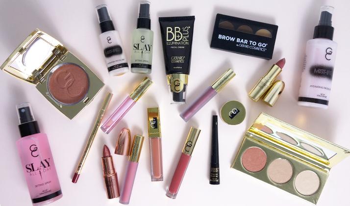 Various Gerard Cosmetics items