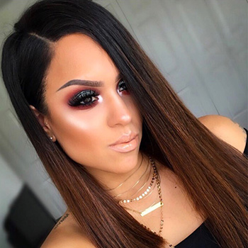 @dmr319 wearing Grace Star Powder highlight.