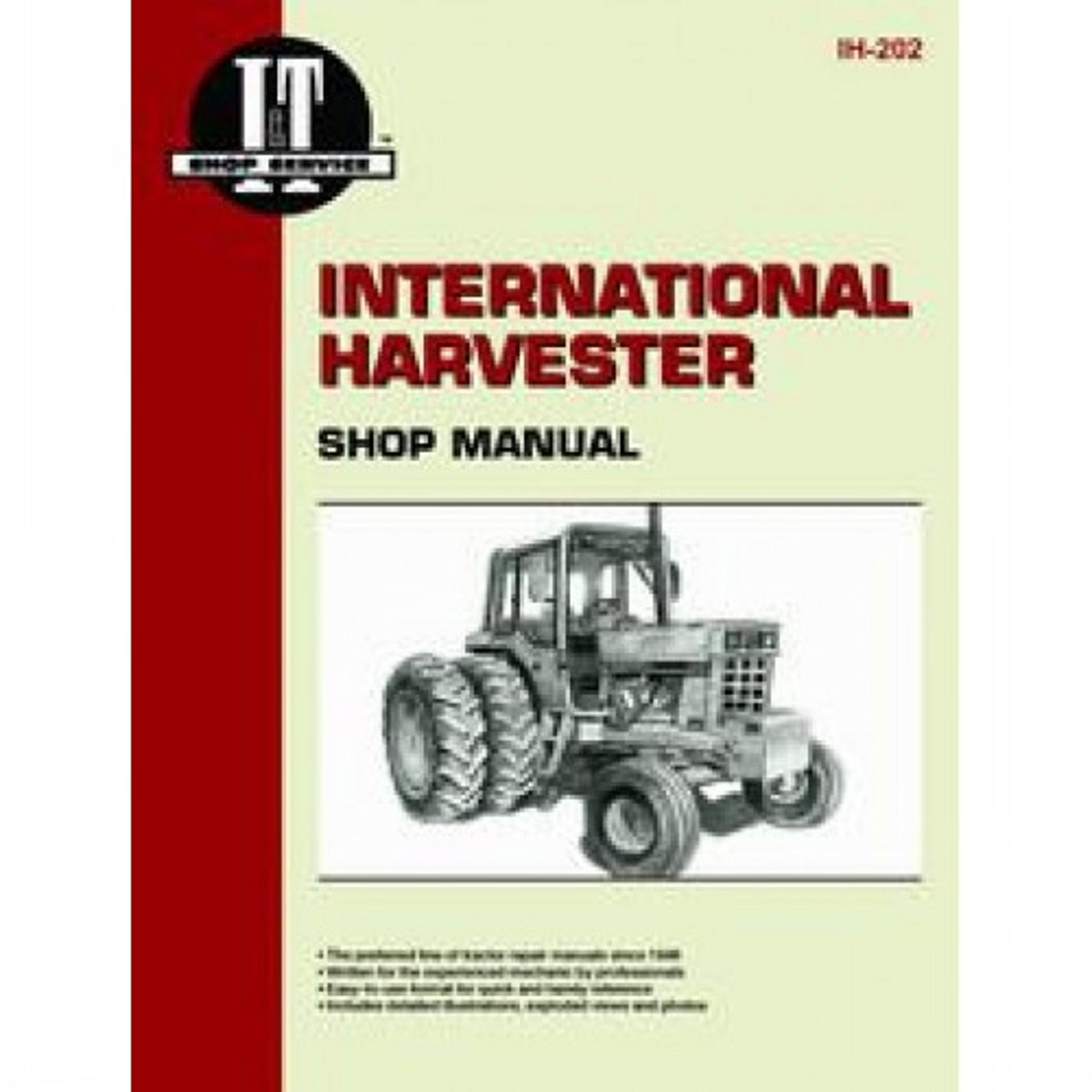 FARMALL INTERNATIONAL 656 666 686 HYDRO 70 GAS TRACTOR SERVICE MANUAL REPAIRSHOP