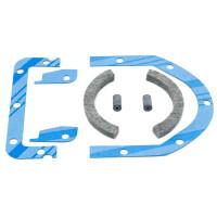 Rear Crankshaft Seal Set, IH (Gas) H HV OS4 O4 W4, SUPER H, SUPER HV, SUPER W4, 300 350