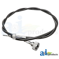 """61"""" Tachometer Cable, IH 300 350 460"""
