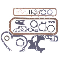 Conversion Gasket Set with Crankshaft Seals (Diesel D236, D282, DT282, D301) 460 560 606 656 660 706 2606 2656 2706 3616 3800 3850