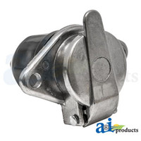 Implement Lights Socket, 7 Pin (North America)